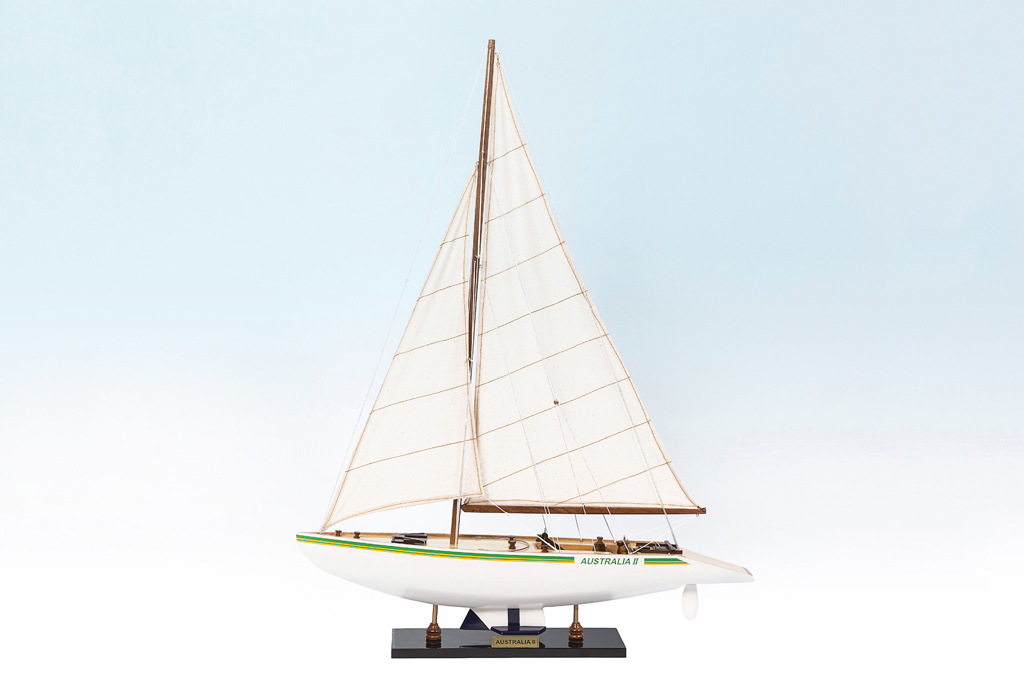Australia II Replica Model Boat 80cm from boatguard.com.au