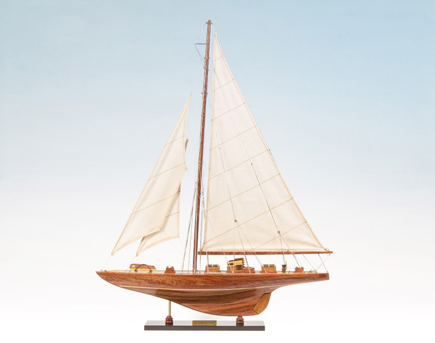 Endeavour Yacht Replica Model Boat 60cm from boatguard.com.au