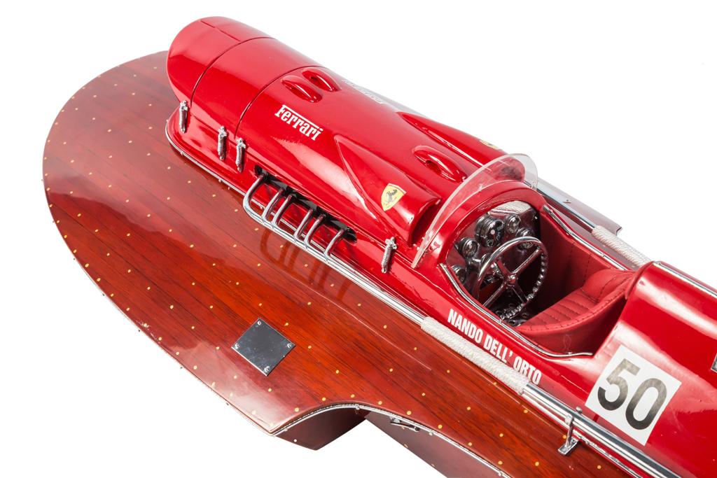 Ferrari Arno Replica Model Boat 70cm from boatguard.com.au