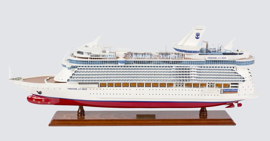 Freedom of the Seas Replica Model Boat 80cm from boatguard.com.au
