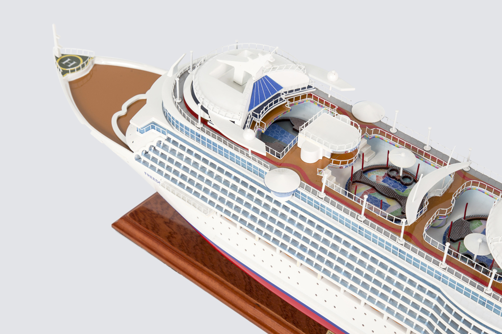 Freedom of the Seas Replica Model Boat 80cm from boatguard.com.au