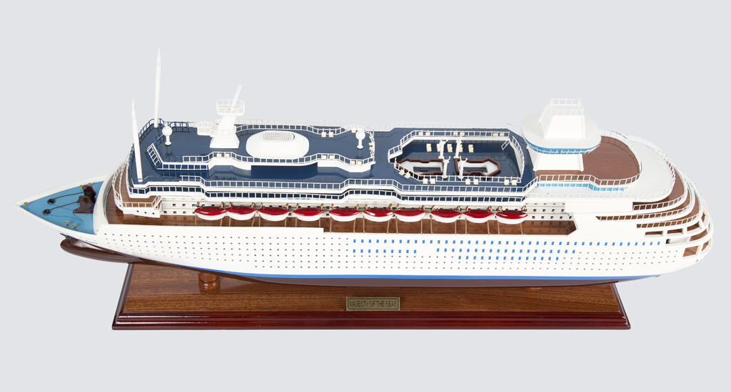 Majest of the Seas Replica Model Boat 80cm from boatguard.com.au