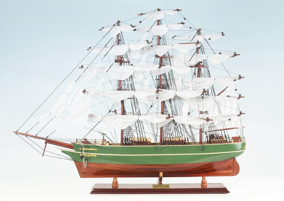 Thermopylae Replica Model Boat 85cm from boatguard.com.au